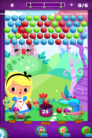 android Alice in Bubble Candy Pop FREE Screenshot 1