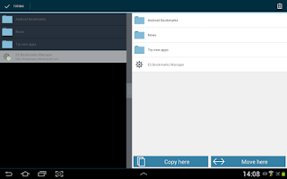Screenshot of Bookmark Manager - Lite