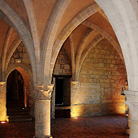 Abbaye la crypte by Gérard CHATENET - Buildings & Architecture Other Interior