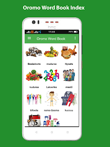 Oromo Word Book with Pictures 1.2.1