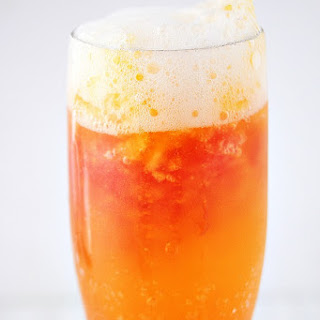 Frozen Cranberry-Orange Mimosa