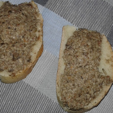 Mushrooms (champignon) Pate