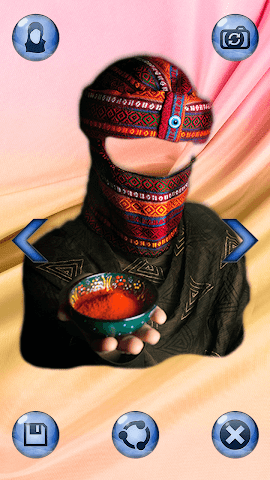 android Hijab Femme Photomontage Screenshot 3
