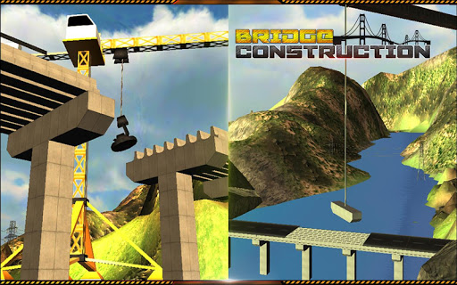 Bridge Builder Crane Operator - screenshot