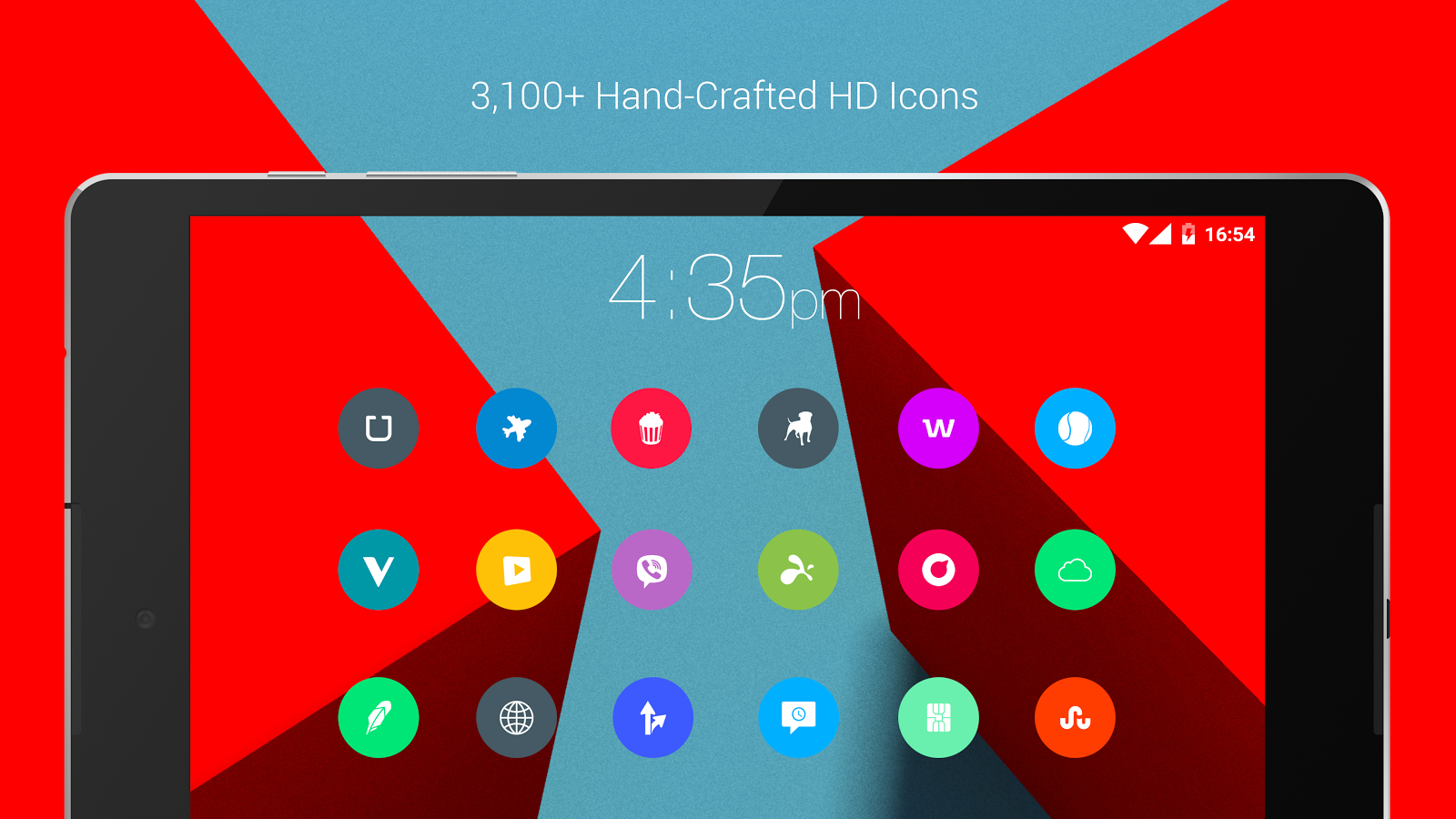 Material Things Colorful Theme Screenshot 18