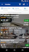 Screenshot of Despegar.com Hoteles y Vuelos