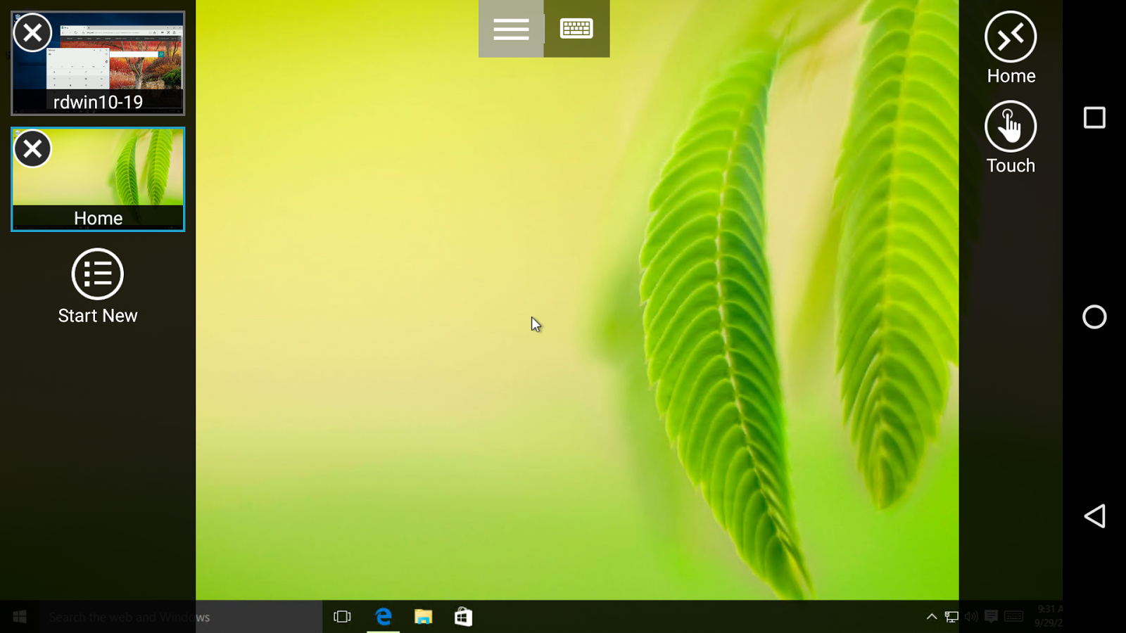 Microsoft Remote Desktop Beta Screenshot 1
