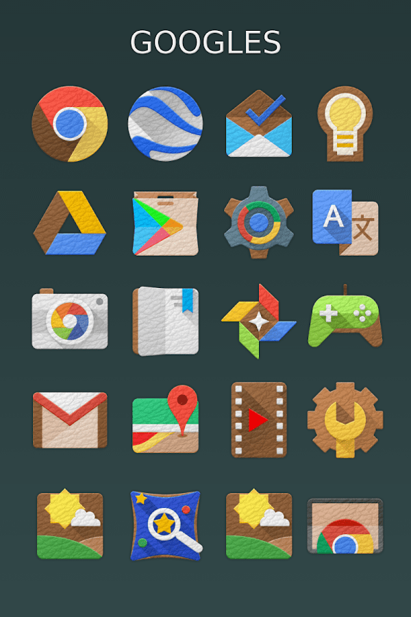 LeatherEx Icon Pack Screenshot 0