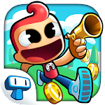 Adventure Land - Wacky Rogue Runner Free Game Icon