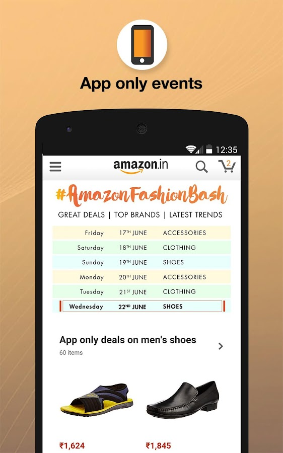 Amazon India Online Shopping Screenshot 0
