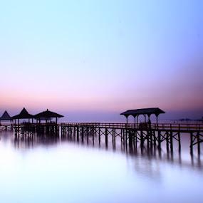 Kenjeran beach by Linggar Saputra I Wayan - Landscapes Waterscapes