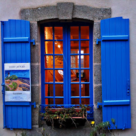 Painter's window by Dobrin Anca - Buildings & Architecture Architectural Detail ( picture, window, locronan, artistic, painter )