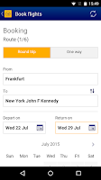 Screenshot of Lufthansa