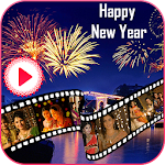 Happy New Year Video Maker 2019 Icon