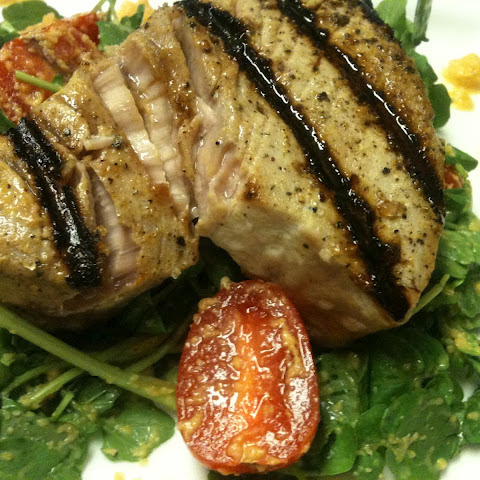 Tangerine Grilled Tuna