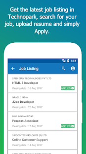 Free My TechnoPark – Jobs, News, Accommodation and more APK for Windows 8