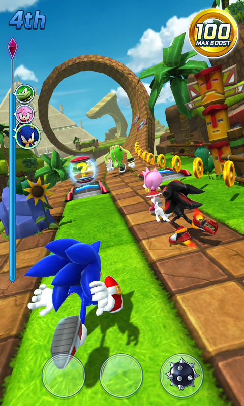 Sonic Forces: Speed Battle Screenshot 1