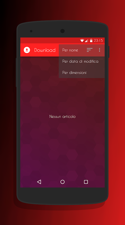 Transparent Red - CM13 Theme Screenshot 6