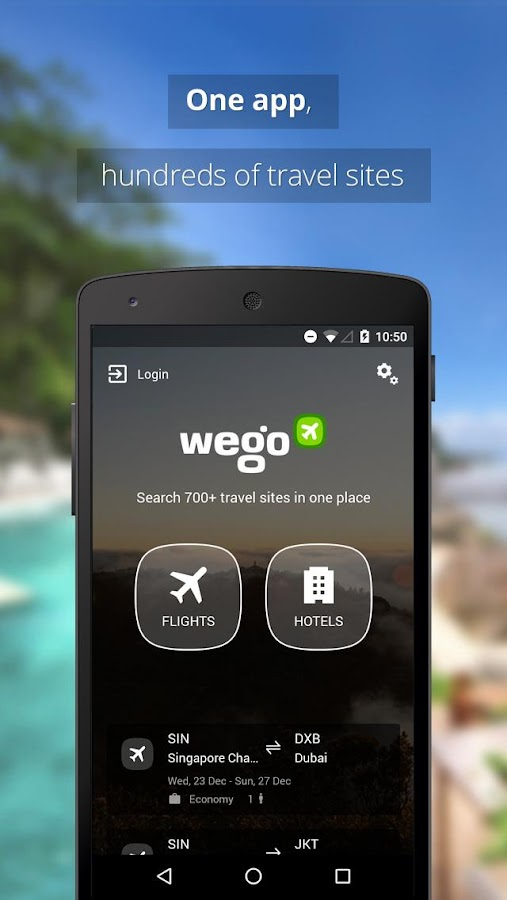 Wego Flights & Hotels Screenshot 0