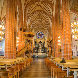 Stockholm by Waldemar Dorhoi - Buildings & Architecture Places of Worship ( church )