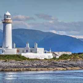 Lismore Lighthouse by Deborah Lister - Buildings & Architecture Other Exteriors ( scotland, lismore, lighthouse, islands, argyll, ocean, westcoast )