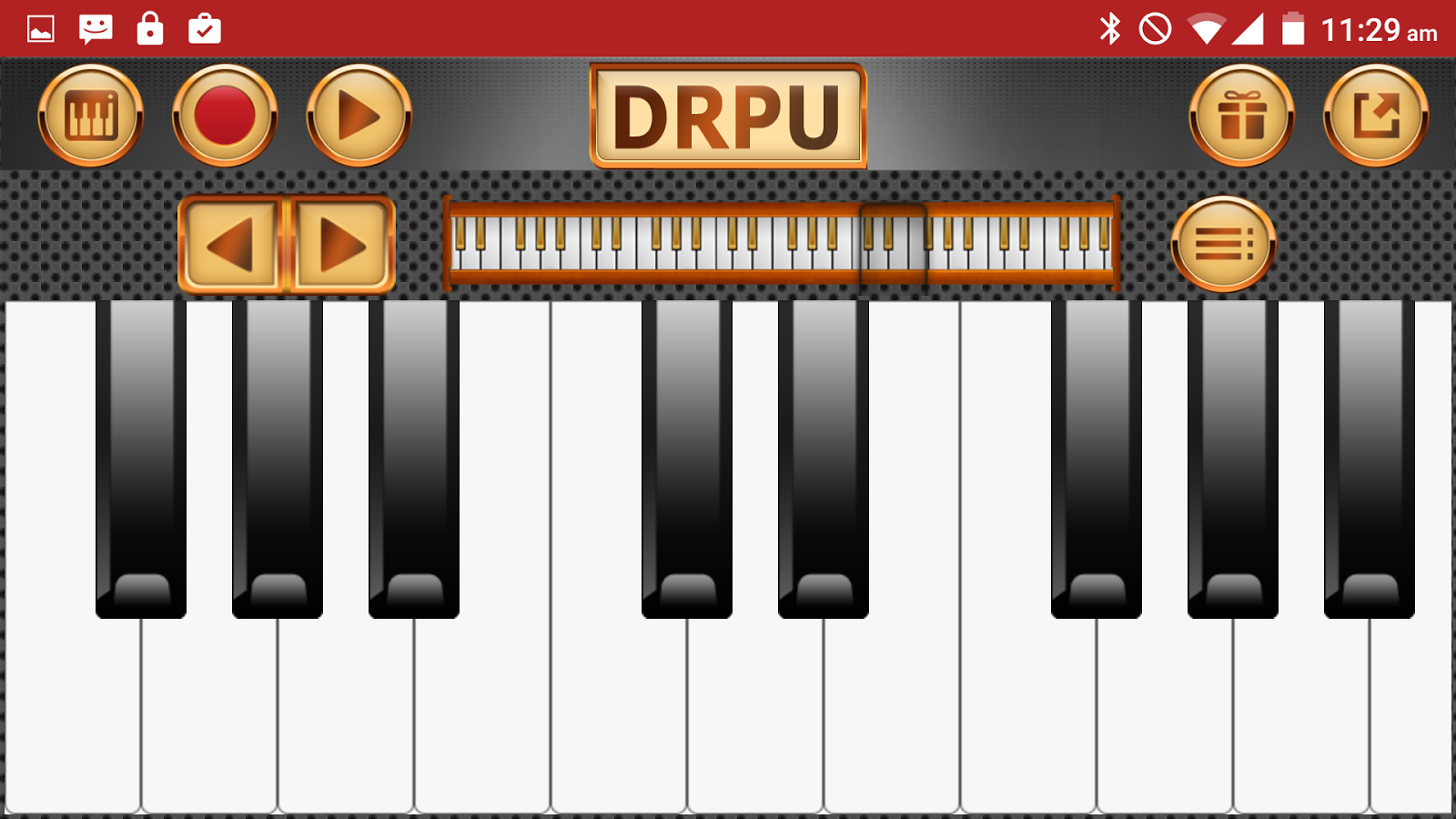 Piano Keyboard Music Pro Screenshot 1