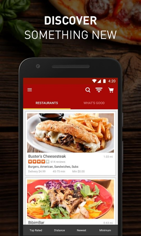 Eat24 Food Delivery & Takeout Screenshot 2