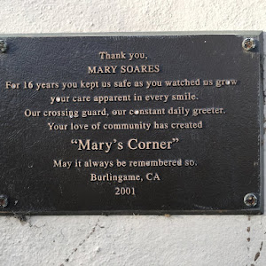 Thank you, MARY SOARES For 16 years you kept us safe as you watched us grew your care apparent in every smile. Our crossing guard, our constant daily greeter. Your love of community has created ...