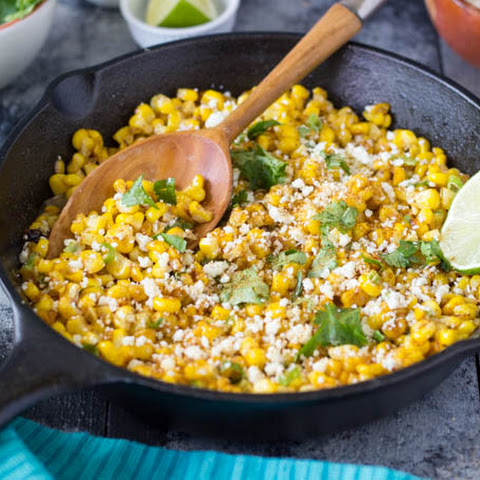 Skillet Mexican Street Corn