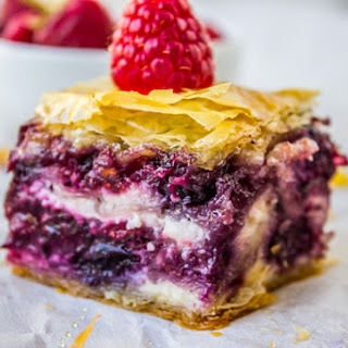 Berry Cheesecake Baklava