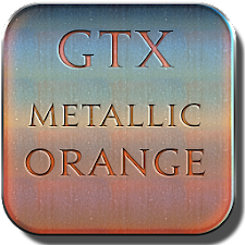 Metallic Orange Icon Pack