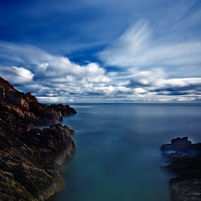 The Big Blue by CLINT HUDSON - Landscapes Travel ( isle of man, seascape, coastline )