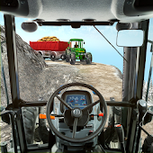 Heavy Tractor Trolley Cargo:Rural Farmer Simulator