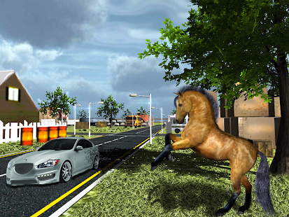 Crazy Horse City Rampage - screenshot