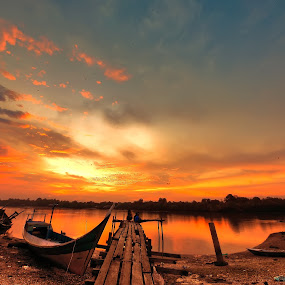 Sunset in Kampong Batu Putih by Armie YS Yusop Teppo - Landscapes Sunsets & Sunrises