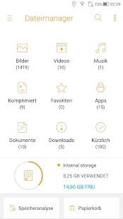 File Manager (File Explorer) Screenshot