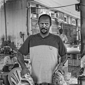by Fadel Alhayki - People Portraits of Men