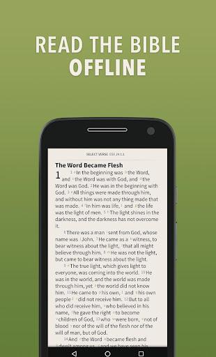 NIV Bible by Olive Tree screenshot 1