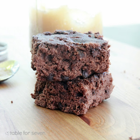 Low Fat Applesauce Brownies