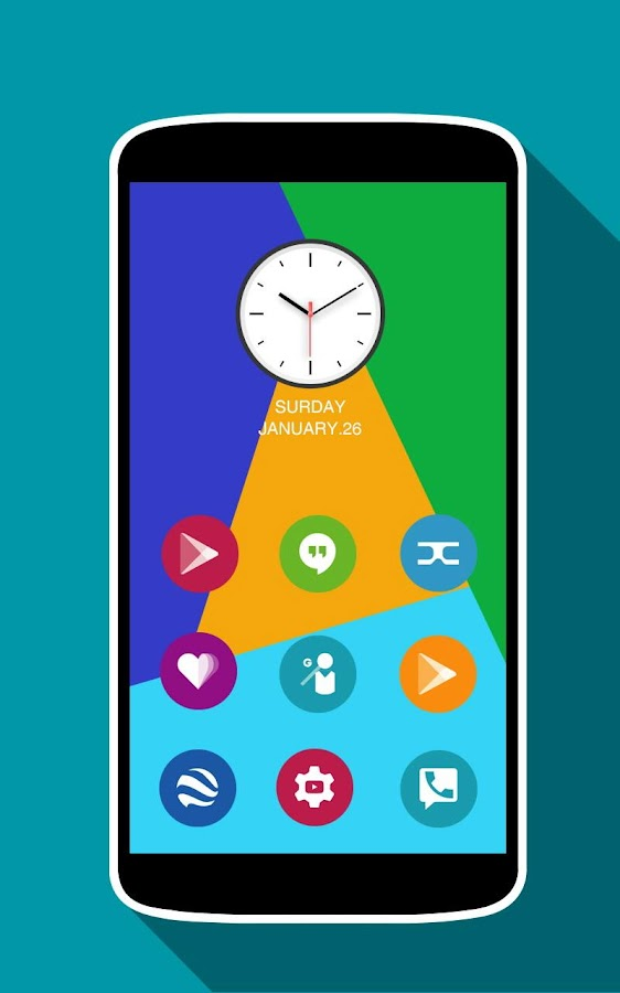 Win 10 Colors - Icon Pack Screenshot 3