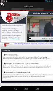 Göksu FM - screenshot