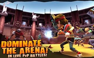 Screenshot of Might and Mayhem: Battle Arena