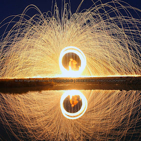 steel wool different perspective by Ahsan  Niaz - Abstract Fire & Fireworks ( firework, steelwool, long exposure, professional people, photography )