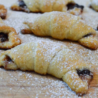 Chocolate Mascarpone Crescents