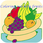 Coloring variety fruits APK Image