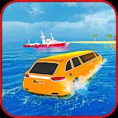 Water Surfer Beach Limo Car Driving Simulator APK for Ubuntu