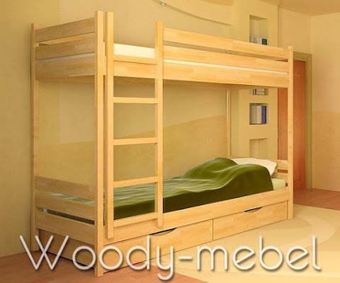 Детская мебель: кровать Дует