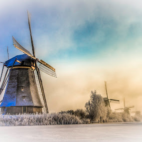 Kinderdijk in Holland by Teus Renes - Landscapes Weather