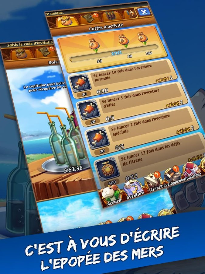 Pirates:une aventure magique Screenshot 11