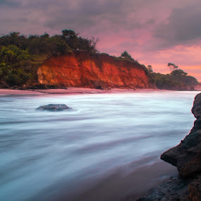 Miss you 2 by Rahmad Himawan - Landscapes Waterscapes ( water, canon, mountain, waterscapes, bengkulu, nature, sunset, indonesia, asia, long exposure, sunrise, landscapes, slow speed )